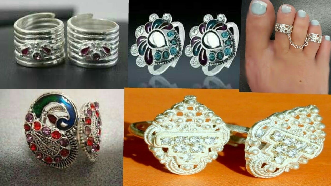 Bichhiya / Chitki / Toe Ring Design || New Silver Traditional With Latest Traditional Toe Rings (Gallery 8 of 15)