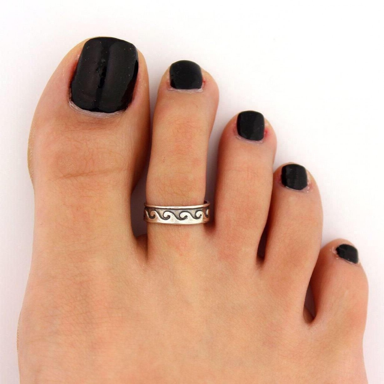 Big Lovely Toe Rings | Oblacoder For Current Tiffany Toe Rings (View 4 of 15)