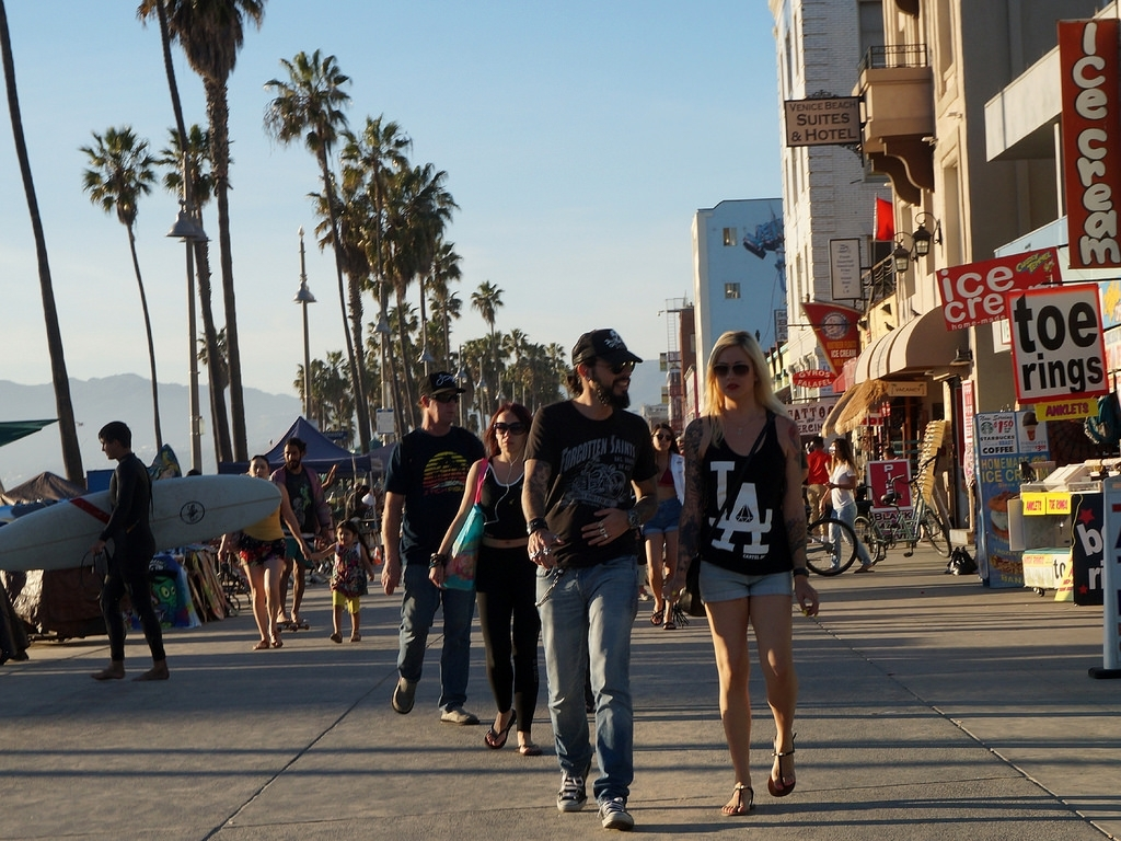 Californication | Venice Beach Boardwalk In Springtime, Befo… | Flickr Intended For 2018 Venice Beach Toe Rings (View 5 of 15)