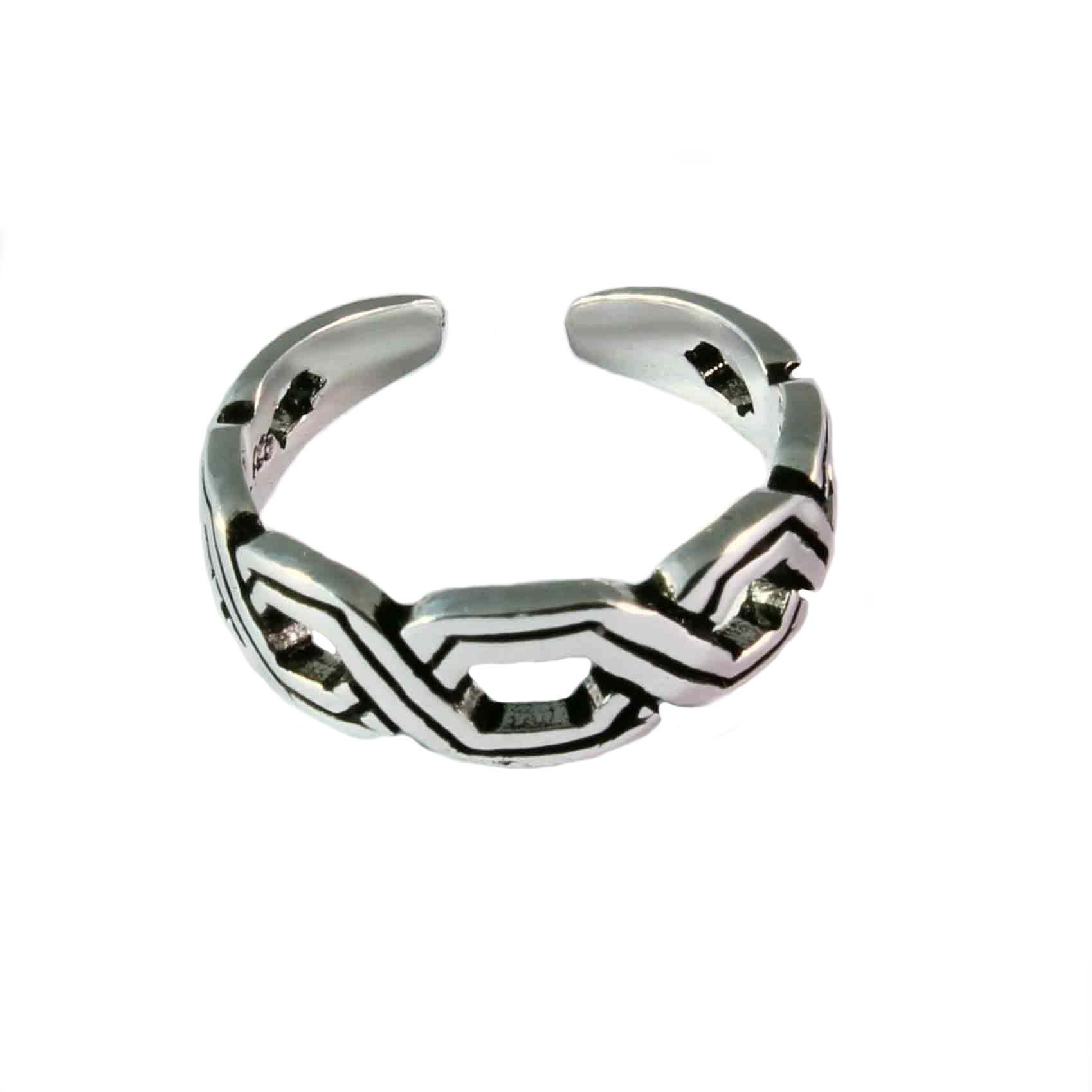 Charm School Uk > Sterling Silver Toe Rings > Celtic Design Regarding Most Recently Released Celtic Toe Rings (View 8 of 15)