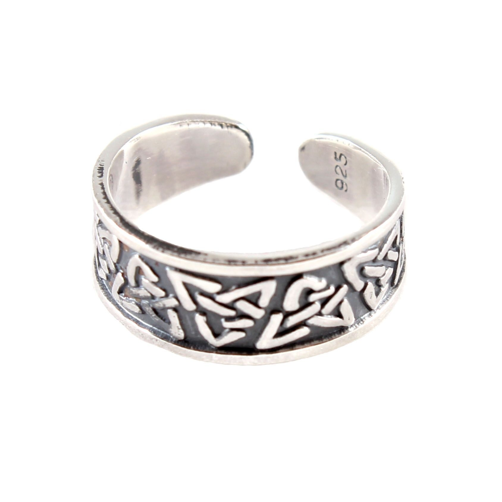 Charm School Uk > Sterling Silver Toe Rings > Celtic Design Within Most Recent Celtic Toe Rings (View 9 of 15)