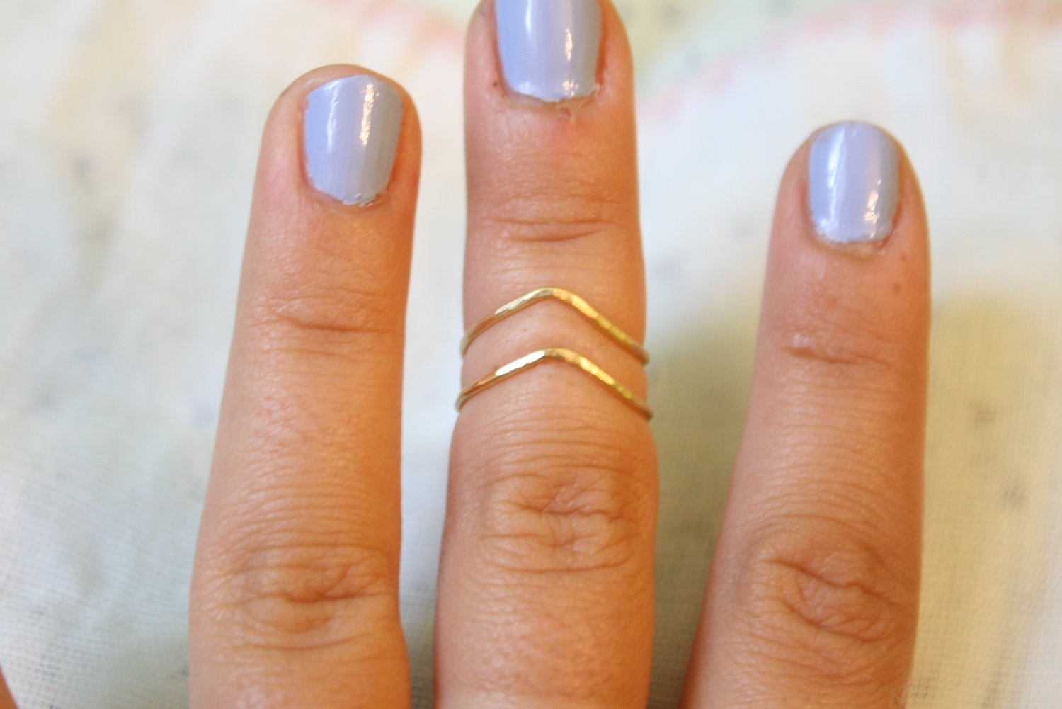 Chev Ring | Blingage | Pinterest | Knuckle Rings, Ring And Chevron With 2018 Chevron Knuckle Rings (View 5 of 15)