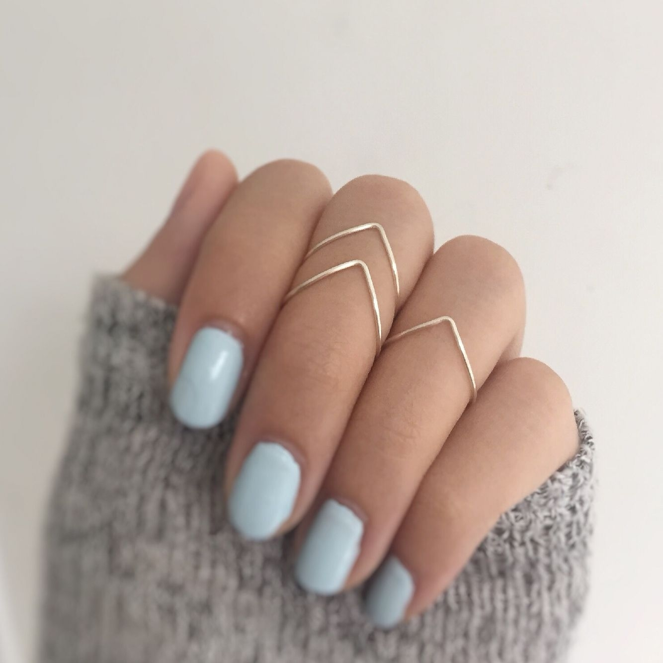 Chevron Knuckle Ring Set – Available On Baublesbybets (View 2 of 15)