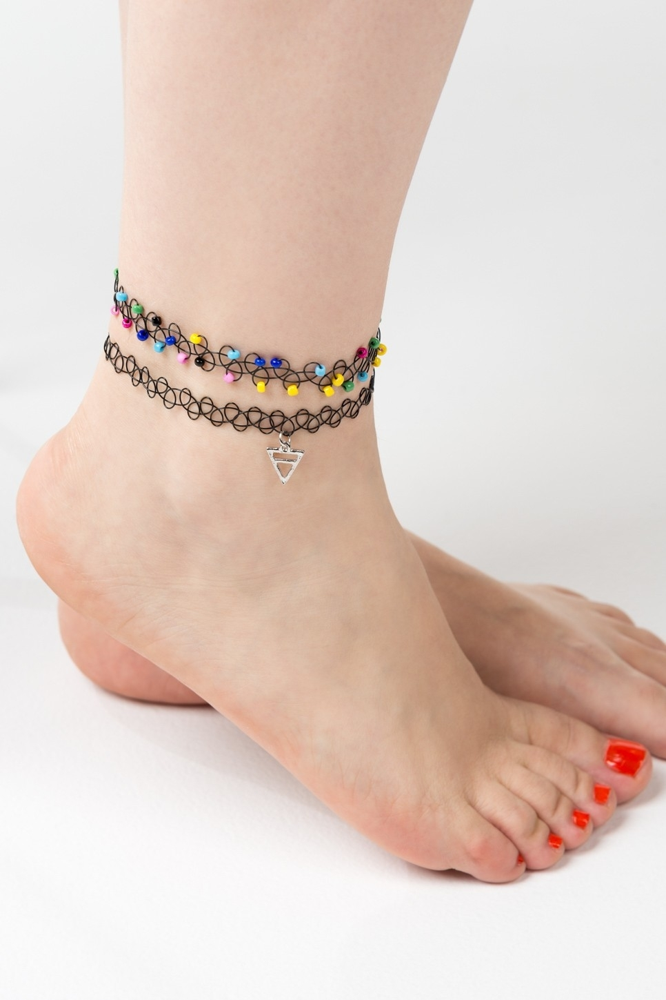 Choker Ankle Bracelets | ❤ Latest | Pinterest | Ankle Bracelets Intended For Most Up To Date Ardene Toe Rings (View 12 of 21)