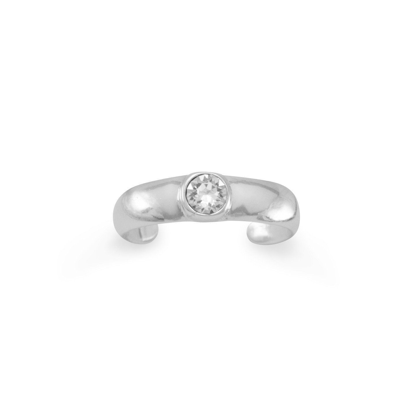Clear Crystal Toe Ring | Products | Pinterest | Toe Rings And Products With Regard To Best And Newest Crystal Toe Rings (View 7 of 15)