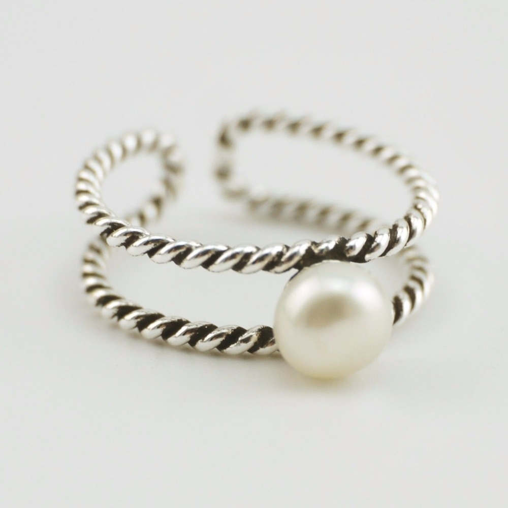 Compare Prices On Pearl Toe Ring  Online Shopping/buy Low Price In Most Up To Date Pearl Toe Rings (View 7 of 15)