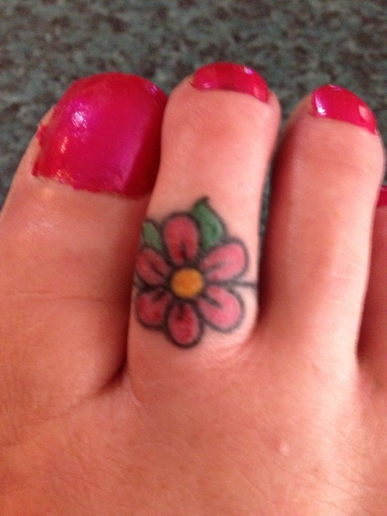 Cross Toe Ring Tattoos – Bing Images | Tattoos I Like | Pinterest With Regard To Newest Mickey Mouse Toe Rings (View 4 of 15)