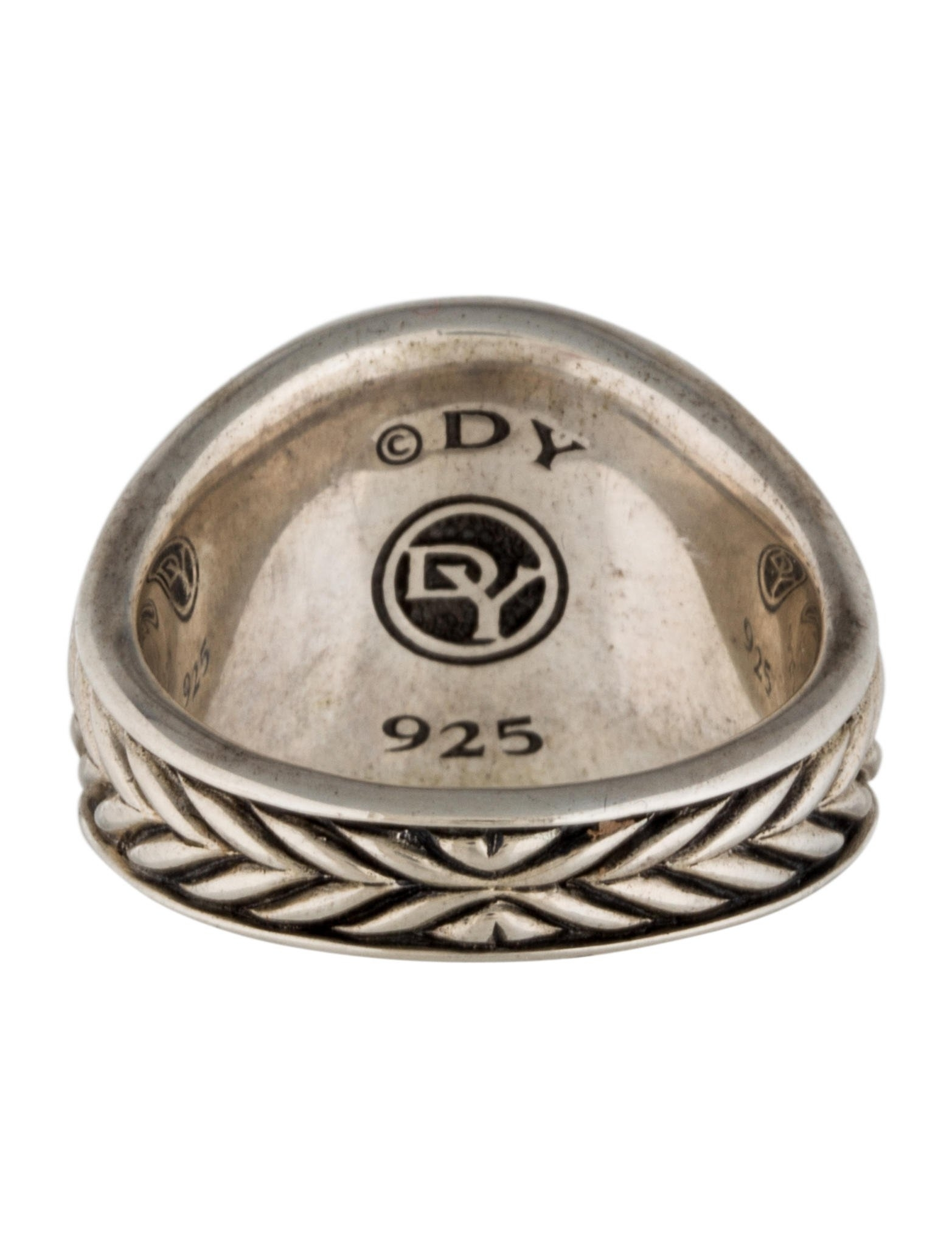 David Yurman Pietersite Chevron Signet Ring – Rings – Dvy32482 With Current Chevron Signet Rings (View 4 of 15)