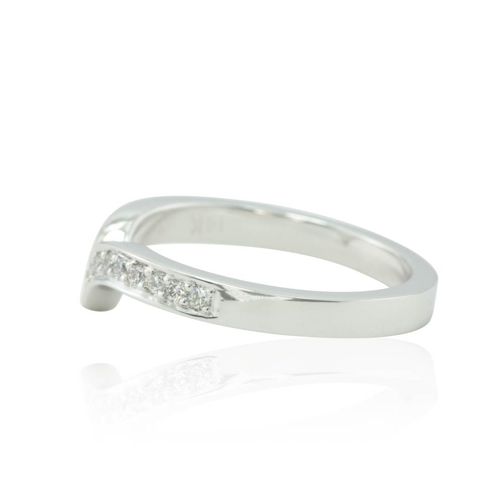 Featured Photo of Chevron Rings White Gold