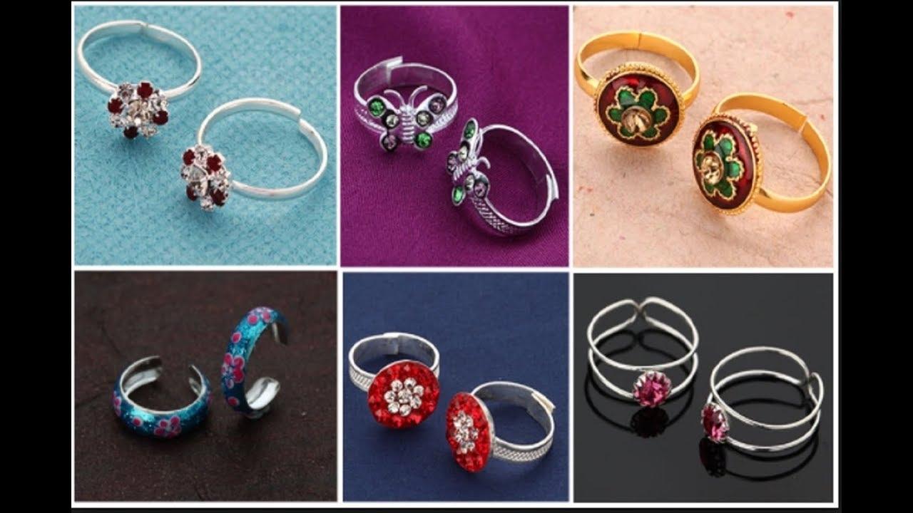महिलाओं के लिए चांदी बिछिया/ Toe Ring Its For Current Bluestone Toe Rings (View 13 of 15)