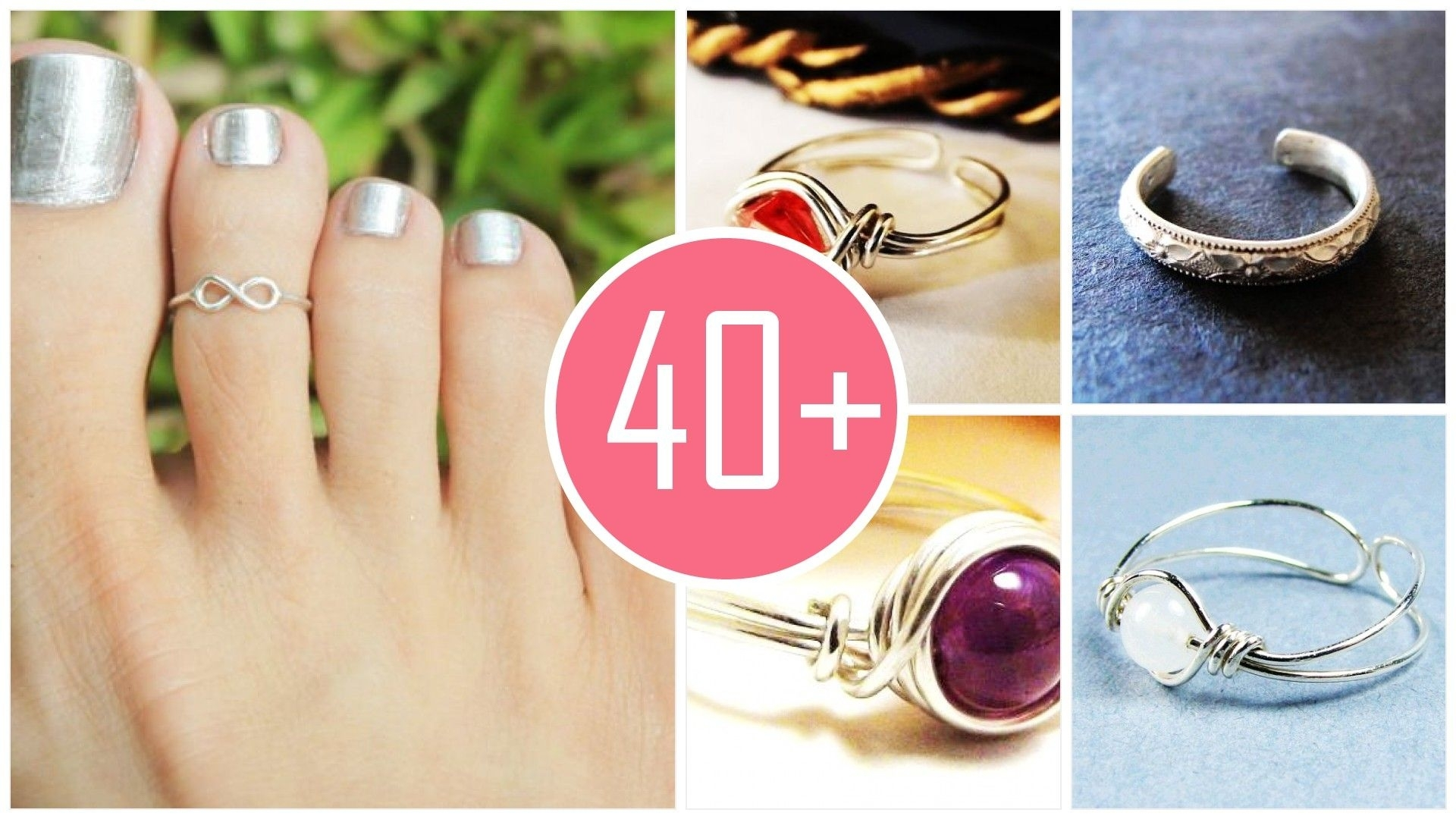 ☻ Let's To To The Party! Georgina Haig's Recommended Adjustable Within Recent White Gold Toe Rings (View 2 of 15)