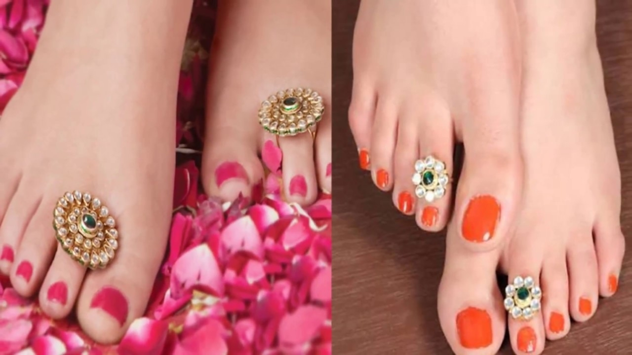 Elegant And Beautiful Toe Rings – Toe Ring Design – Toe Rings For Intended For Latest Etiquette Toe Rings (View 4 of 15)