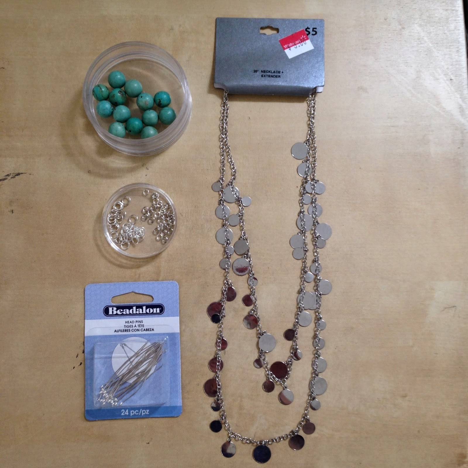 Everyday Bijoux: Jewelry Upcycle: Walmart Clearance Necklace To With Best And Newest Walmart Toe Rings (View 5 of 15)