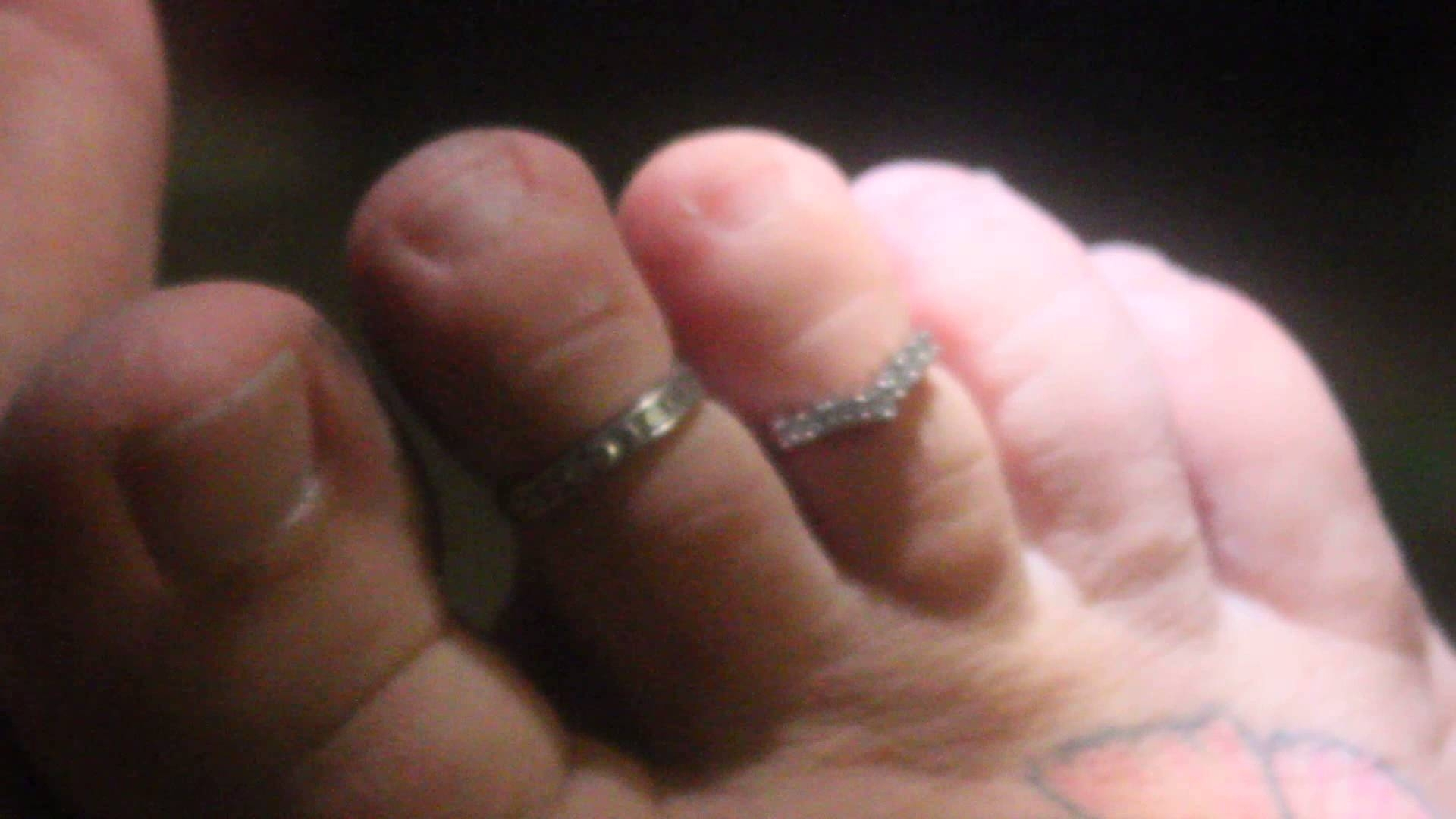 "Feet With Toe Rings !!! The Best You""ll Ever See N Life Perfect Inside Most Up To Date Toe Rings By Melissa (View 4 of 15)"