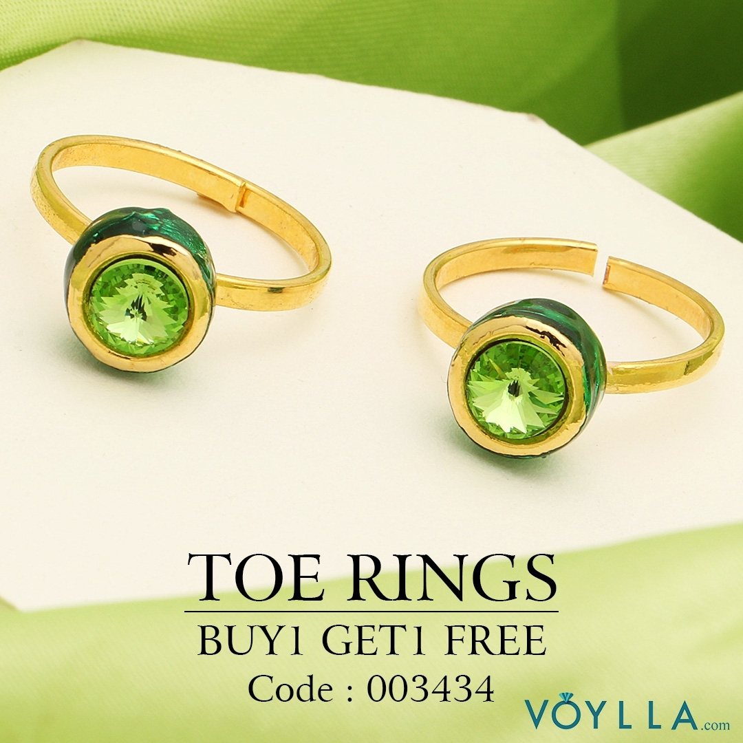 Find The Odd One Out! #jewelry # Alwaysbeautiful # Voylla In Best And Newest Voylla Toe Rings (View 9 of 15)