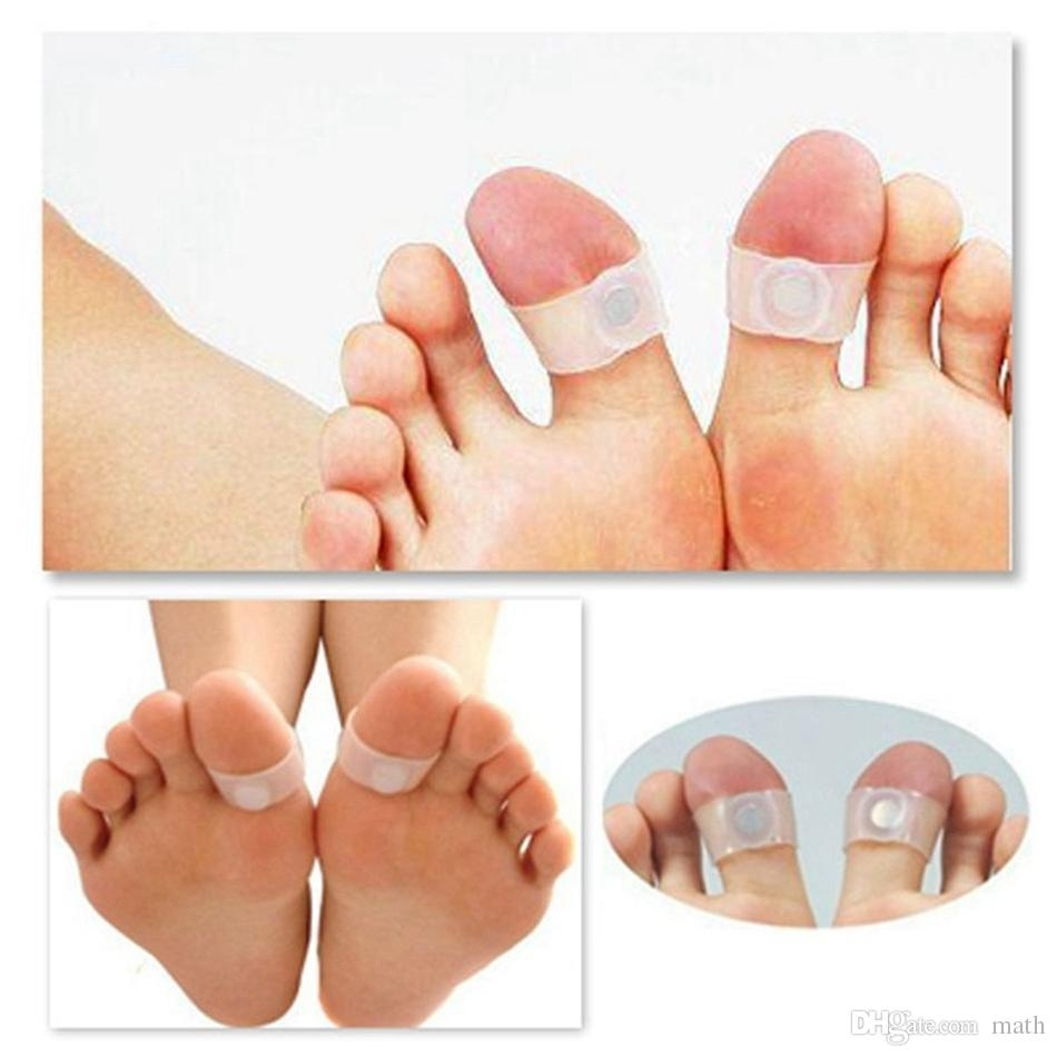 Foot Massage Toe Ring Keep Fit Slimming Health Silicone Magnetic Throughout Most Current Magnetic Toe Rings (View 9 of 15)