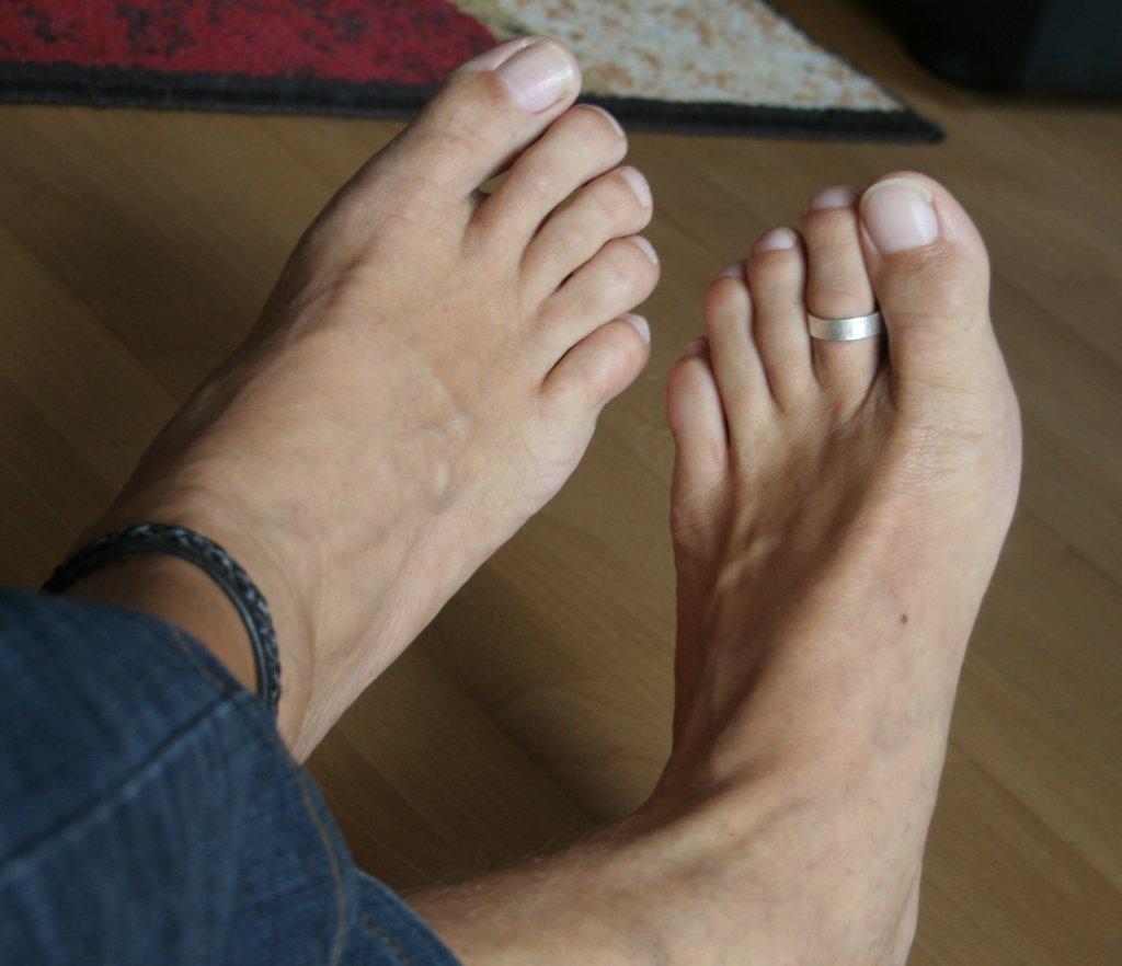 Fußschmuck Männer Lederbänder Lederband Zehenringe Fußkettchen With 2018 Male Toe Rings (Gallery 13 of 15)