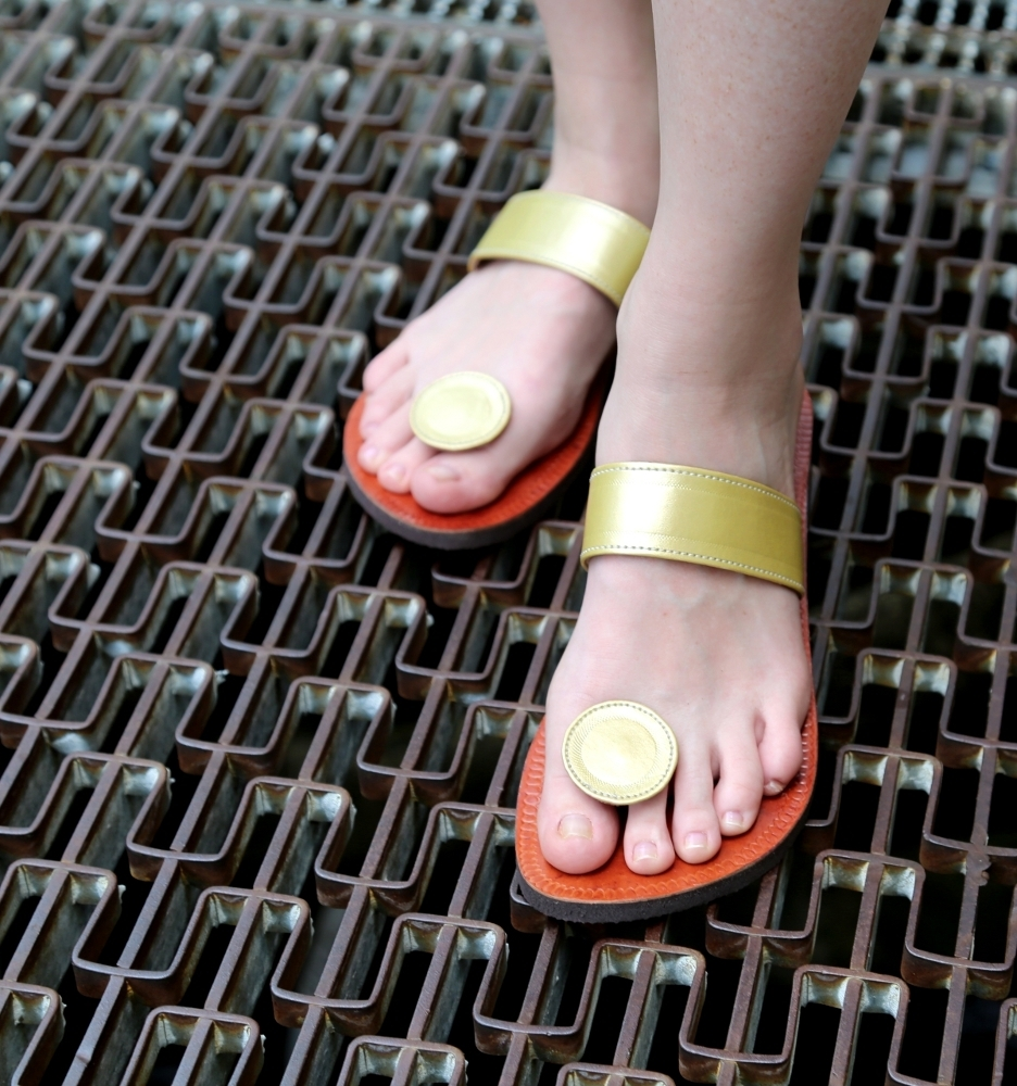 Gold Adesso Paduka Sandals | Paduka Sandals | Pinterest | Sandals With Regard To Recent Maui Toe Rings (View 12 of 15)