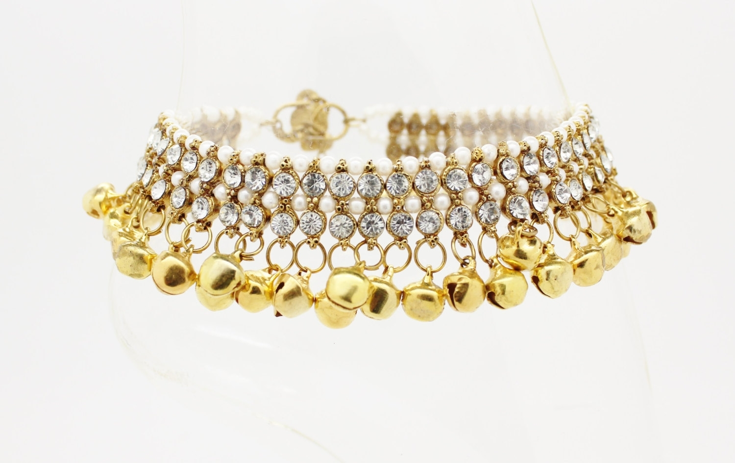 Gold Chanjar – Google Search | Bg Bride Jewelry | Pinterest | Gold With Most Up To Date Toe Rings With Bells (View 15 of 15)