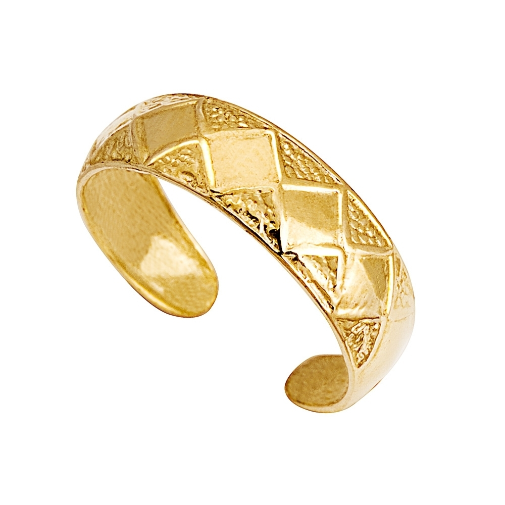 Gold Toe Ring | Eldorado Jewellers In Most Popular Gold Toe Rings (View 12 of 15)