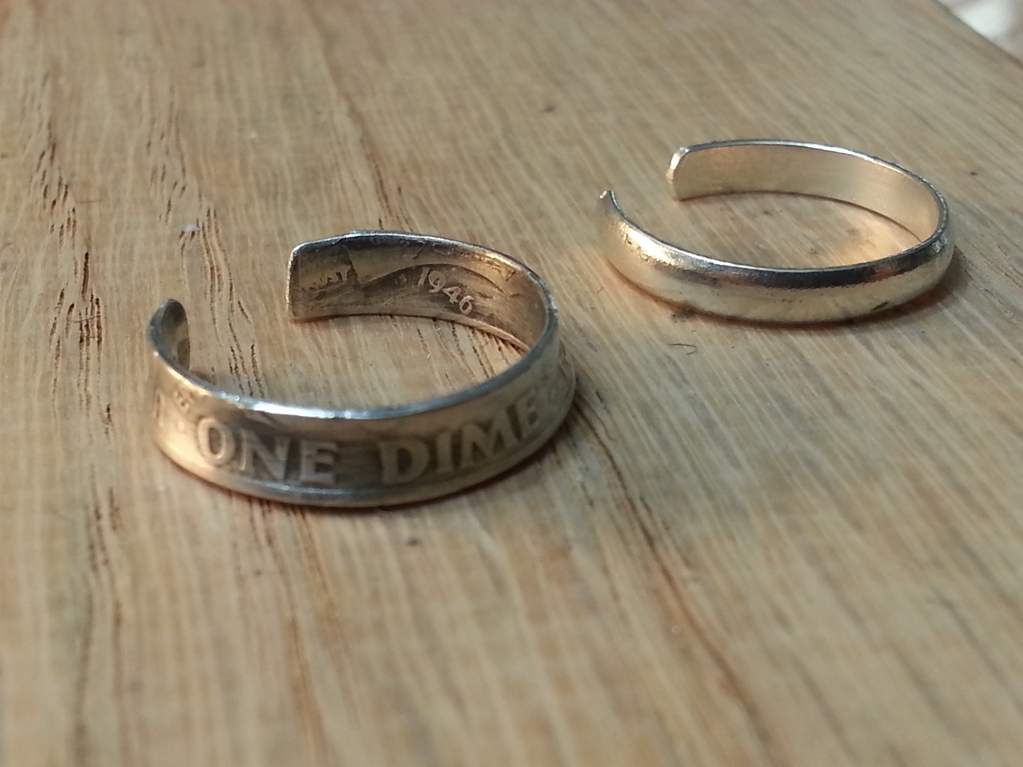 I Recently Picked Up A New Skill. Here Are Some Silver Coin Rings With Regard To Most Recent Mens Toe Rings (Gallery 10 of 10)
