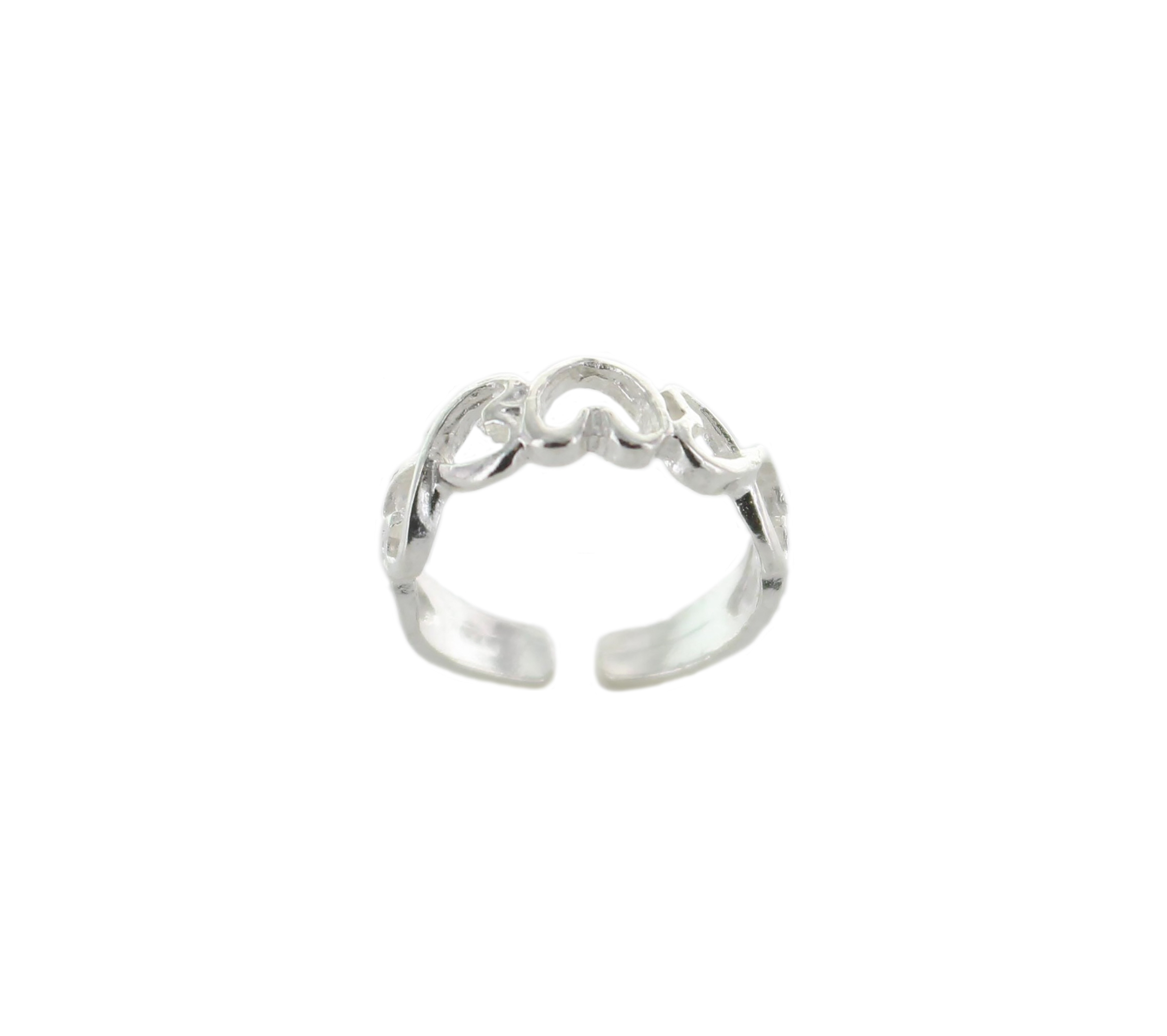 Infinity Heart Toe Ring – Best Of Everything | Online Shopping With 2018 Infinity Toe Rings (View 12 of 15)