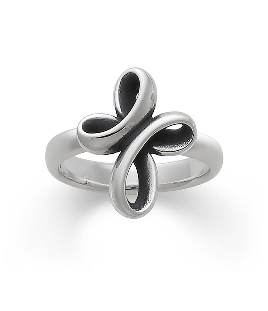 James Avery Eternal Ribbon Cross Ring | Dillards Within Newest James Avery Toe Rings (View 3 of 15)