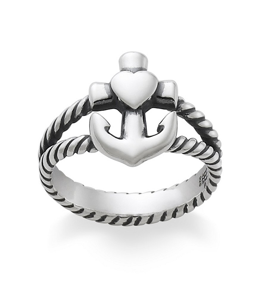James Avery Faith, Hope & Love Twisted Rope Ring | Dillards Regarding Newest James Avery Toe Rings (View 4 of 15)