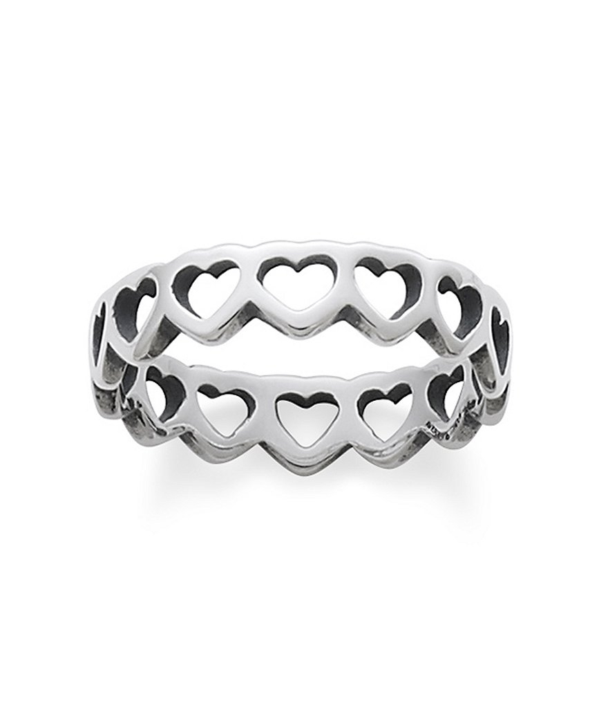 James Avery Tiny Hearts Band Ring | Dillards Intended For 2017 James Avery Toe Rings (View 13 of 15)