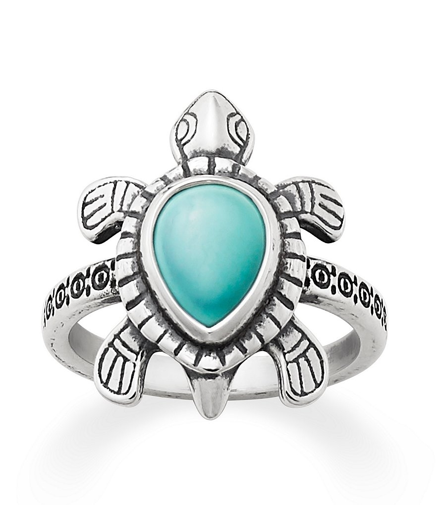 James Avery Turquoise Turtle Ring | Dillards Within Most Recent James Avery Toe Rings (View 14 of 15)