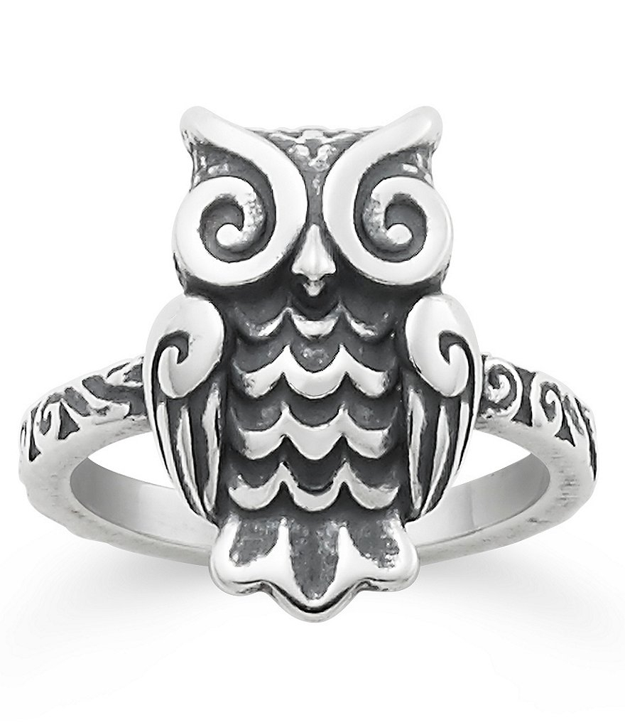 James Avery Woodland Owl Ring | Dillards Pertaining To Most Recently Released James Avery Toe Rings (View 15 of 15)