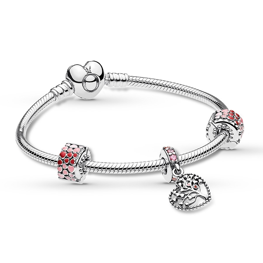 Jared – Pandora Bracelet Gift Set Tree Of Love Sterling Silver Pertaining To Most Recently Released Pandora Toe Rings (Gallery 14 of 15)