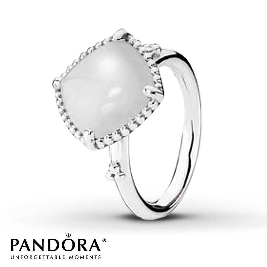 Jared – Pandora Ring Quartzite Sterling Silver Regarding 2018 Pandora Toe Rings Jewellery (View 8 of 15)