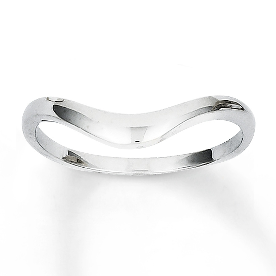 Kay – Chevron Ring 14K White Gold Inside Most Up To Date Chevron Rings White Gold (View 11 of 15)