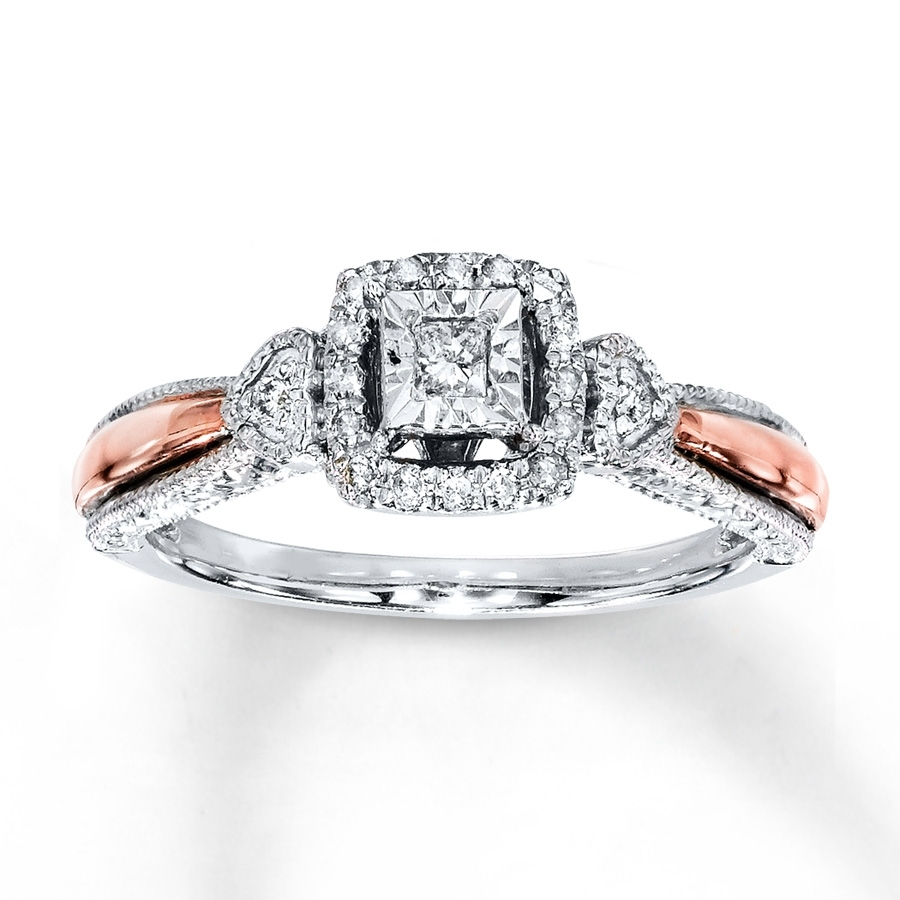 Kay – Diamond Promise Ring 1/6 Carat T.w (View 7 of 15)