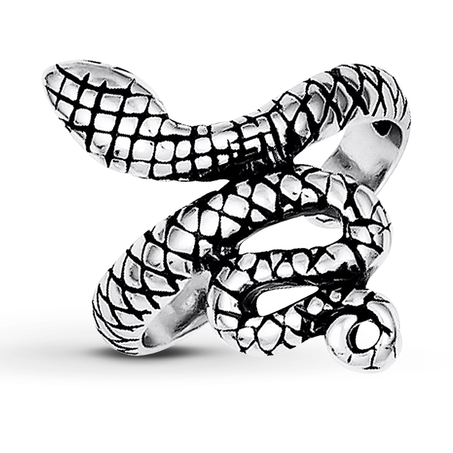 Kay – Snake Toe Ring Sterling Silver Within Best And Newest Snake Toe Rings (View 5 of 15)