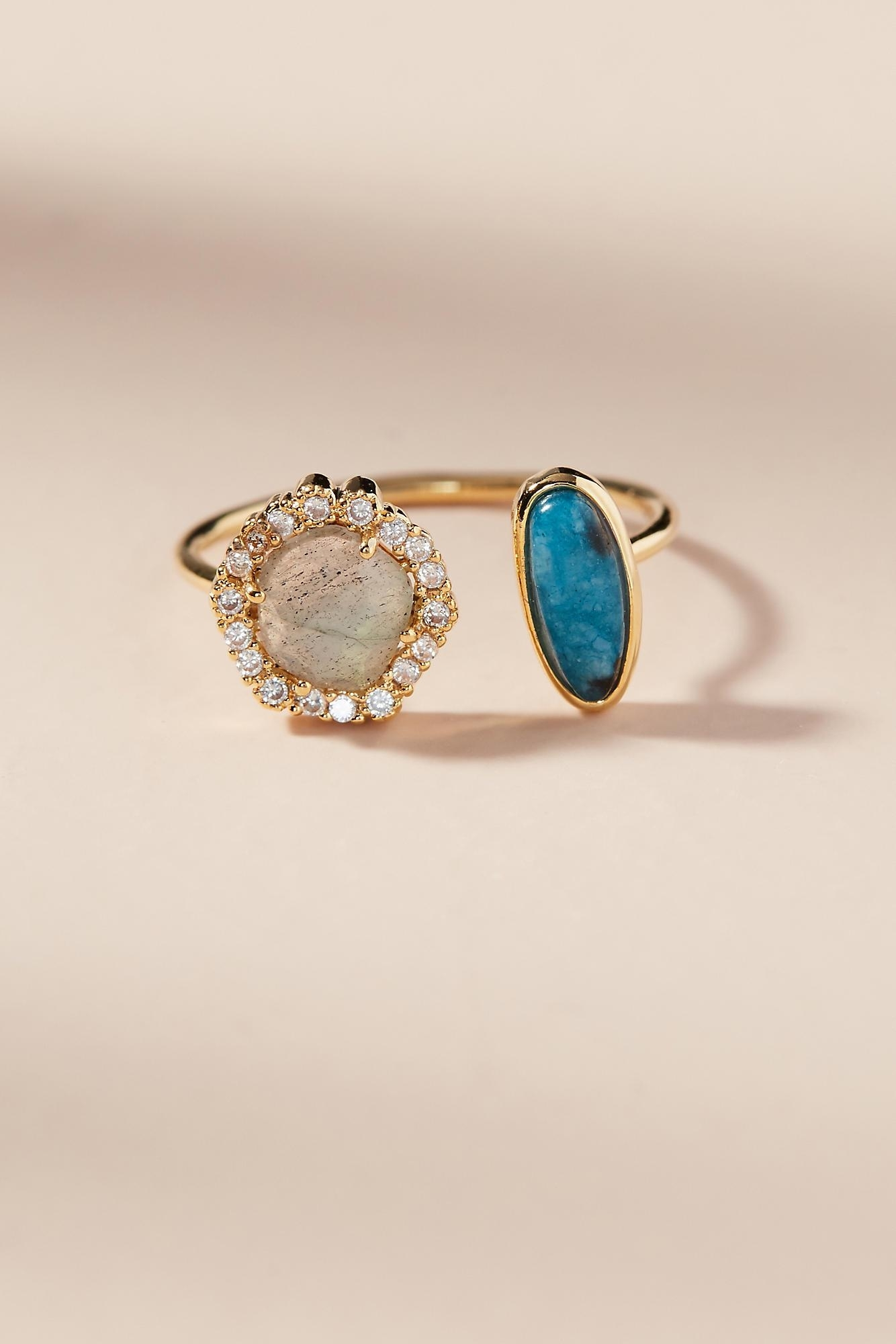 Lyst – Anthropologie Adelaide Ring In Blue With Regard To Most Recent Adelaide Toe Rings (View 7 of 15)