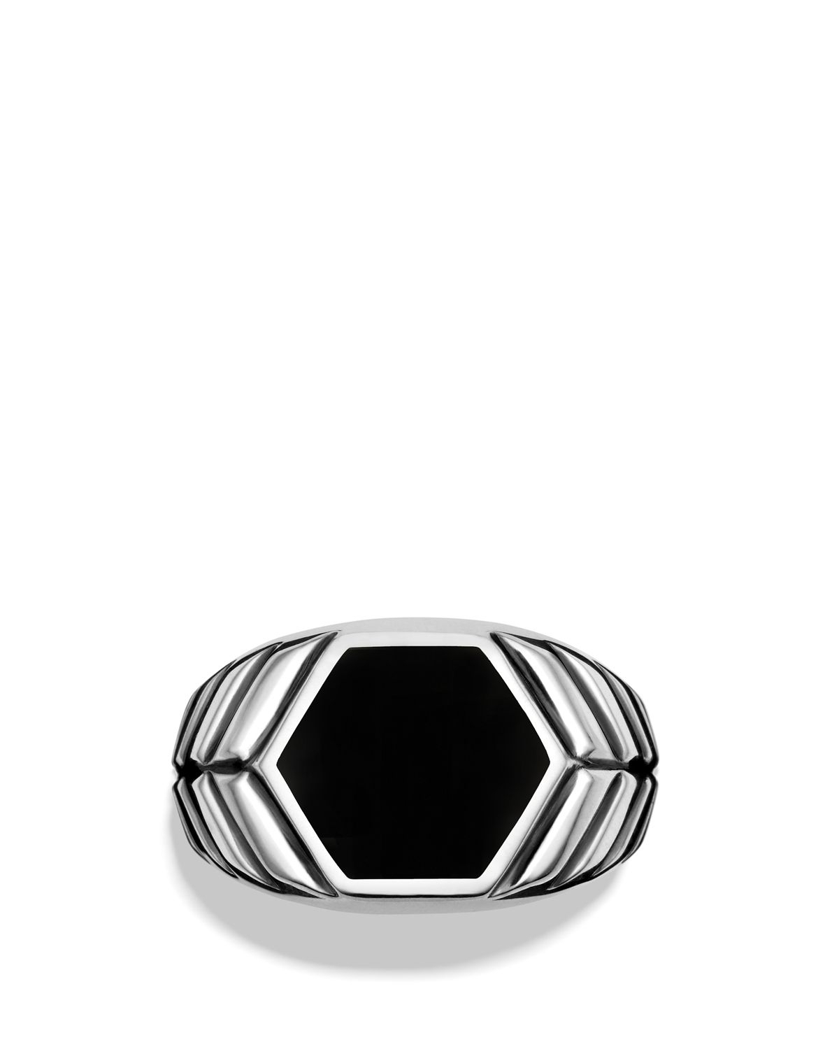 Featured Photo of Chevron Signet Rings