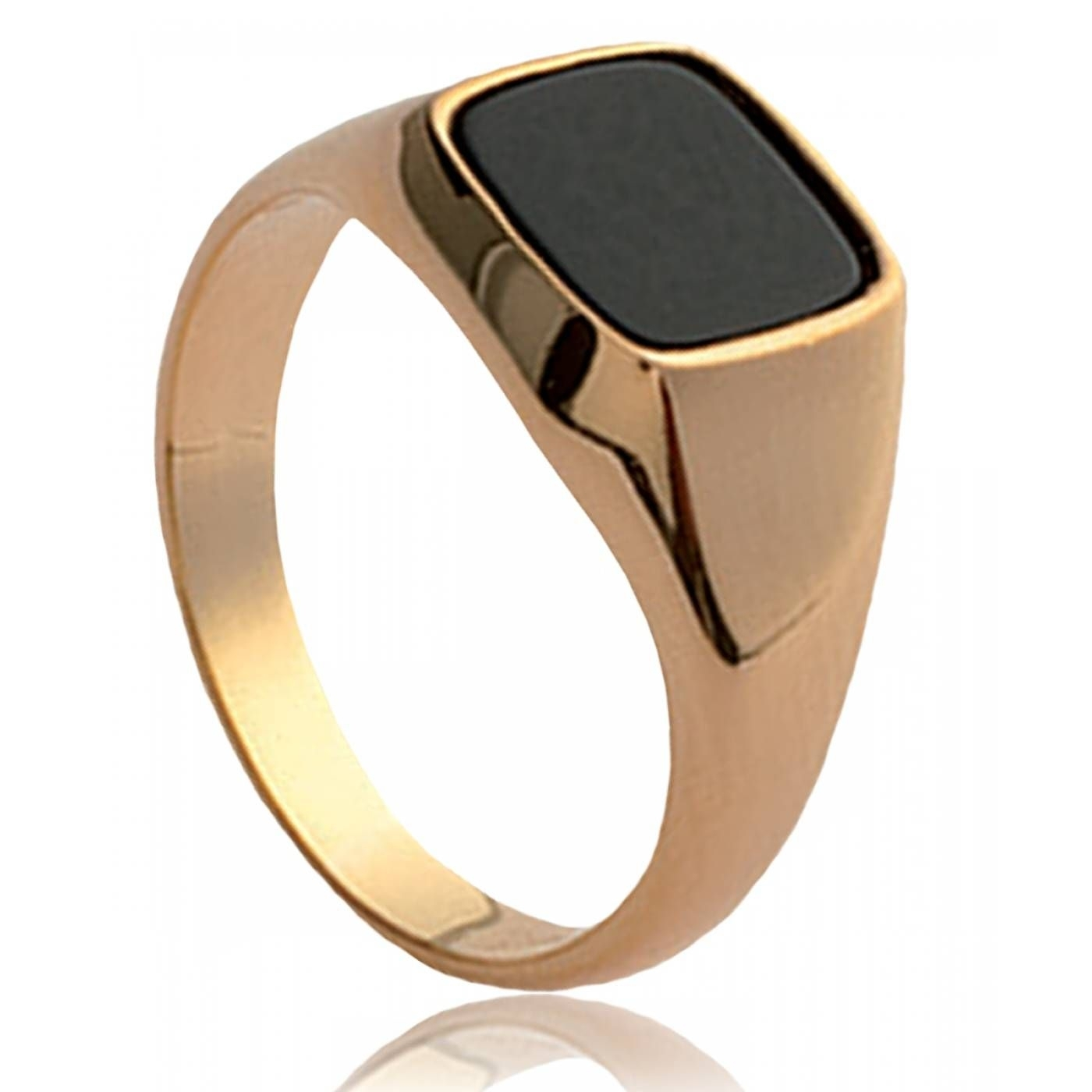 Men Onyx Elixir Black Signet Rings | #ring | Pinterest | Ring In Current Men's Chevron Rings (View 7 of 15)