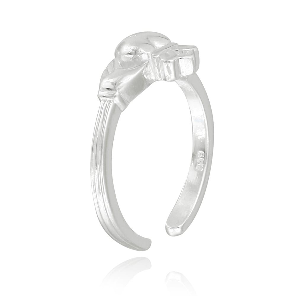 Mondevio Sterling Silver Claddagh Toe Ring – Free Shipping On With Most Recently Released Claddagh Toe Rings (View 11 of 15)
