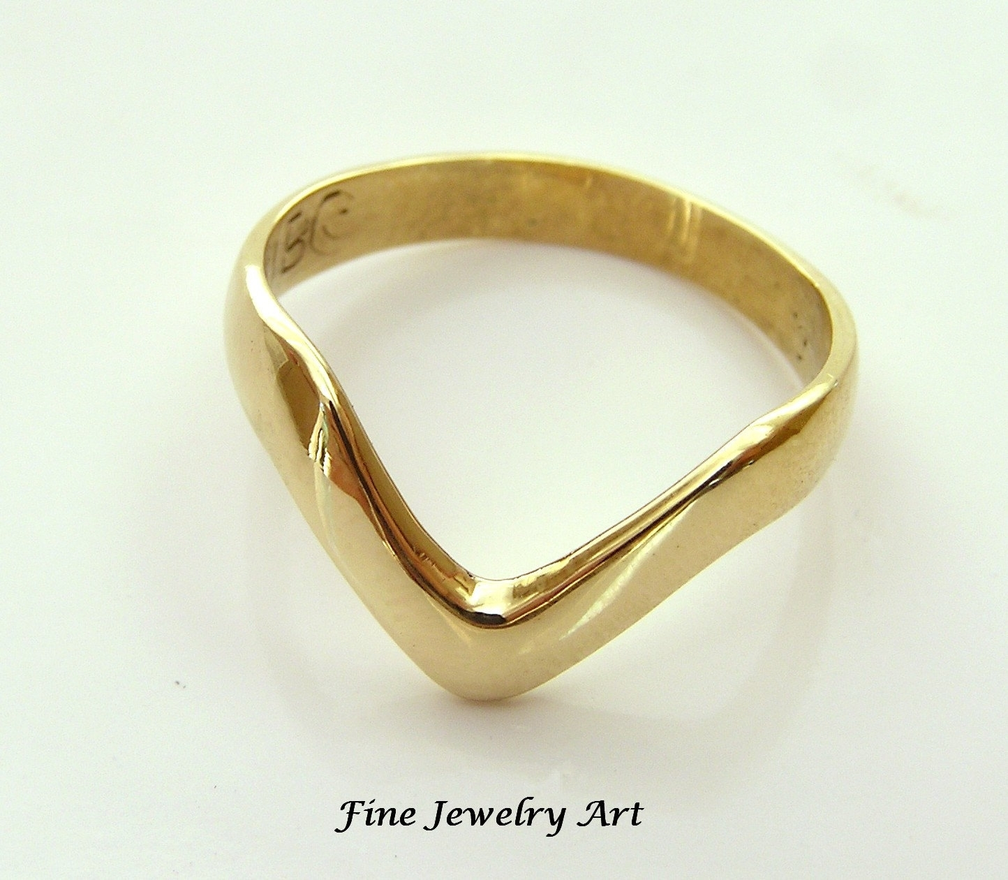 New Cheap Wedding Rings With Regard To Most Up To Date Chevron Shaped Rings (View 5 of 15)