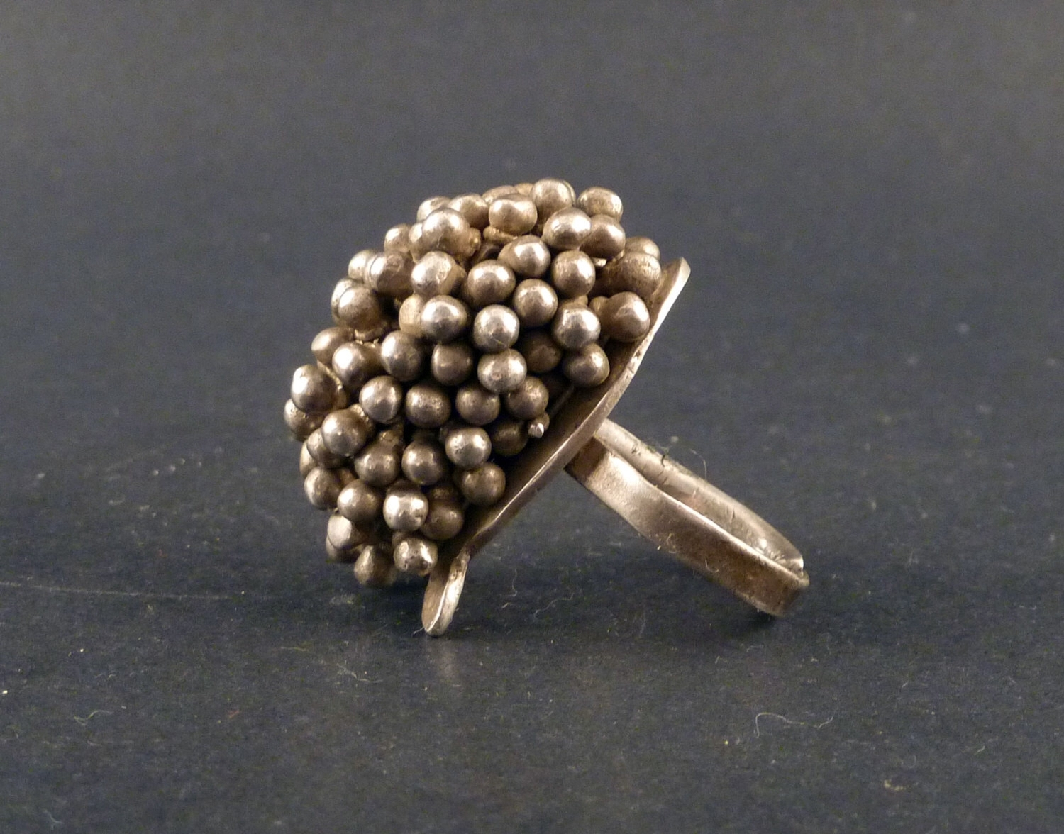 Old Silver Rajasthan Toe Ring From India, Jewellery From Rajasthan In Best And Newest Pearl Toe Rings (View 12 of 15)