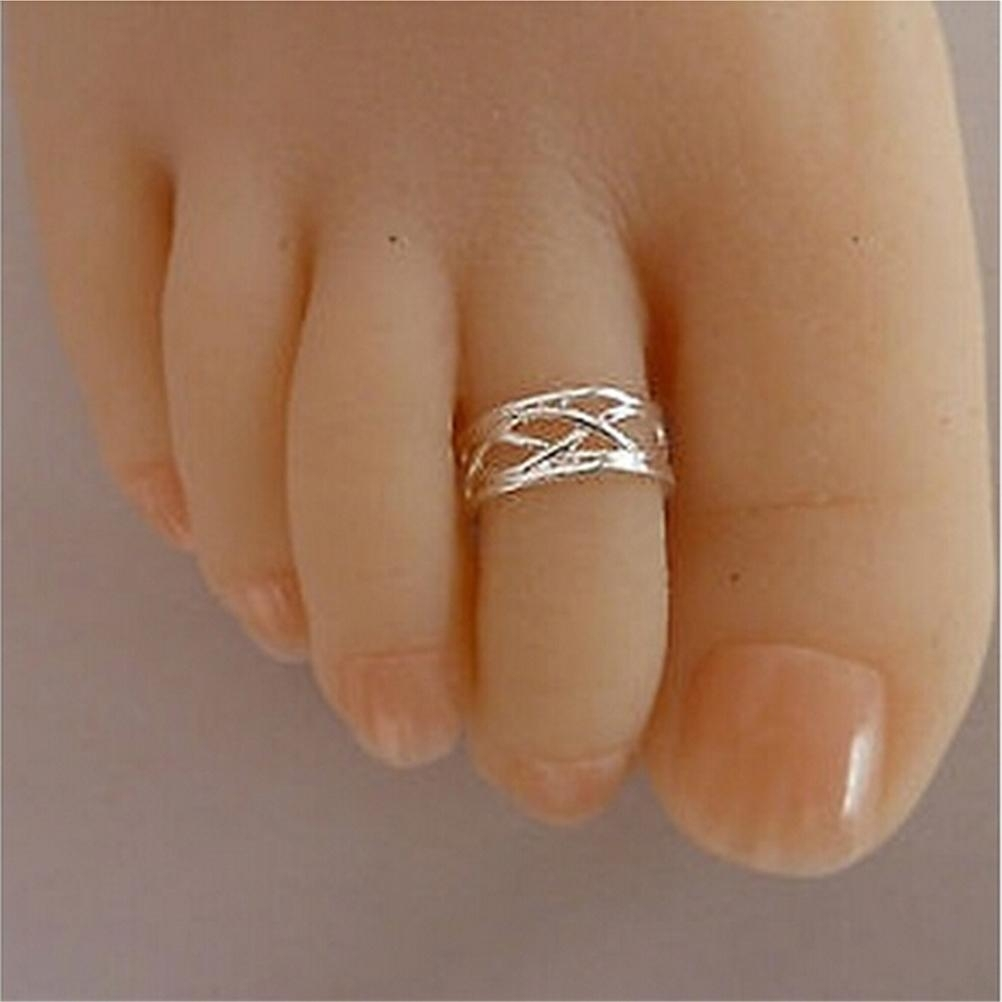 Popular Silver Adjustable Toe Ring Buy Cheap Silver Adjustable Toe Intended For 2018 Adjustable Toe Rings (View 11 of 25)