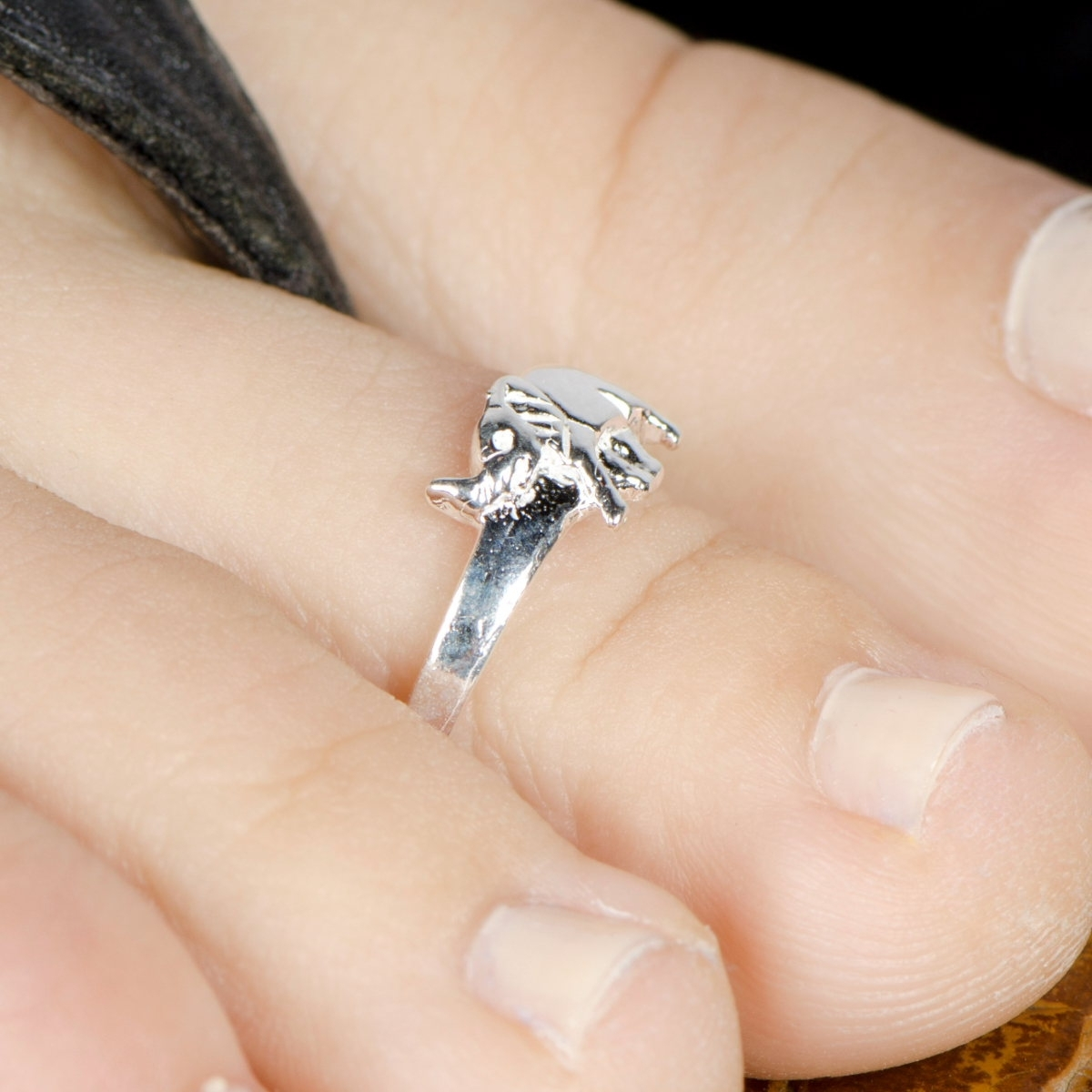 Quiet Wedding: Elephant Diamond Wedding Ring With Regard To Most Popular Toe Engagement Rings (Gallery 1 of 15)