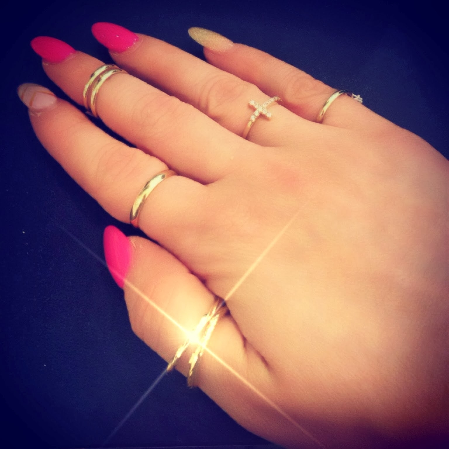 Ring Obsession! Mid Finger Rings, Thumb Rings, And Pinky Rings All Throughout Newest Diy Chevron Rings (View 4 of 15)