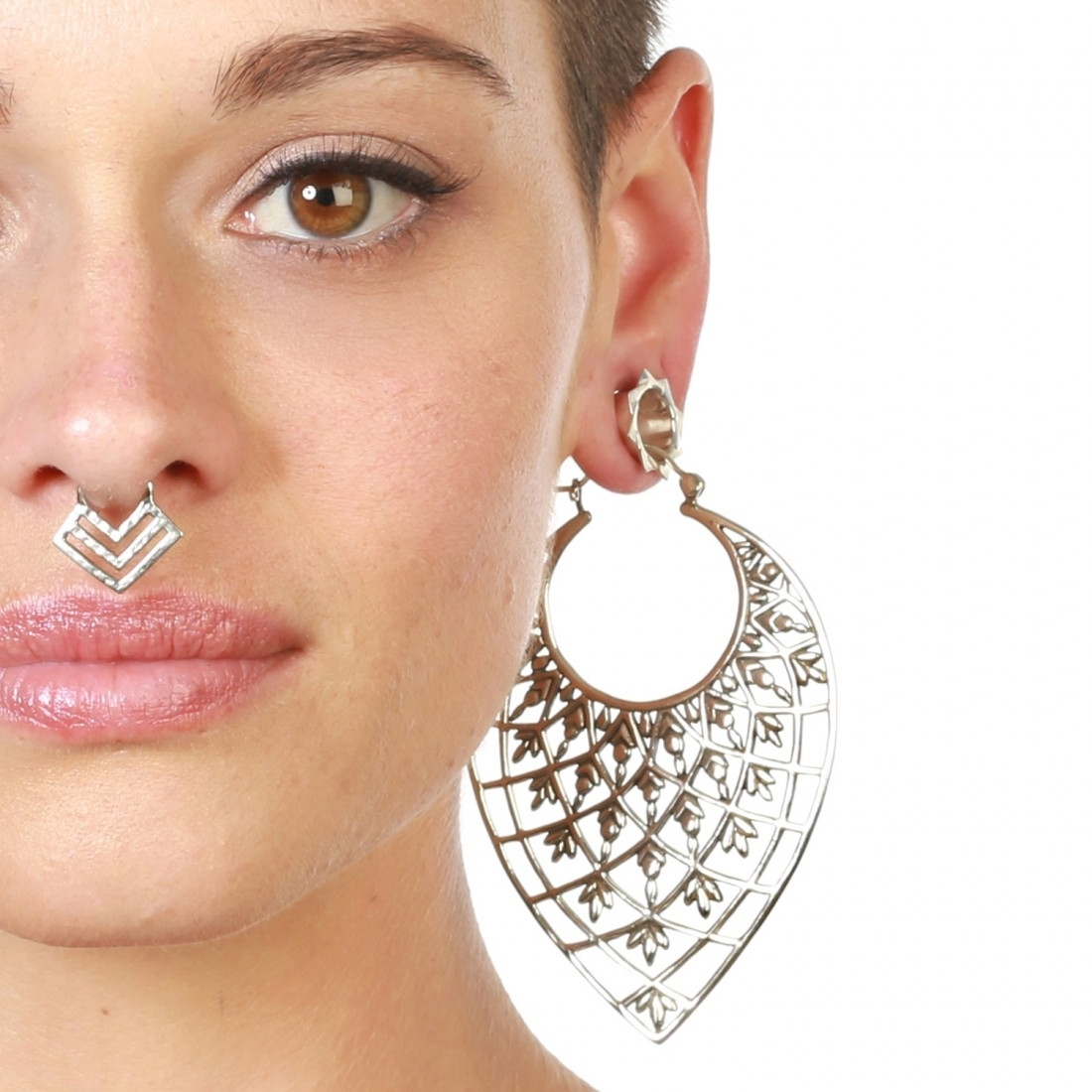 Featured Photo of Chevron Nose Rings
