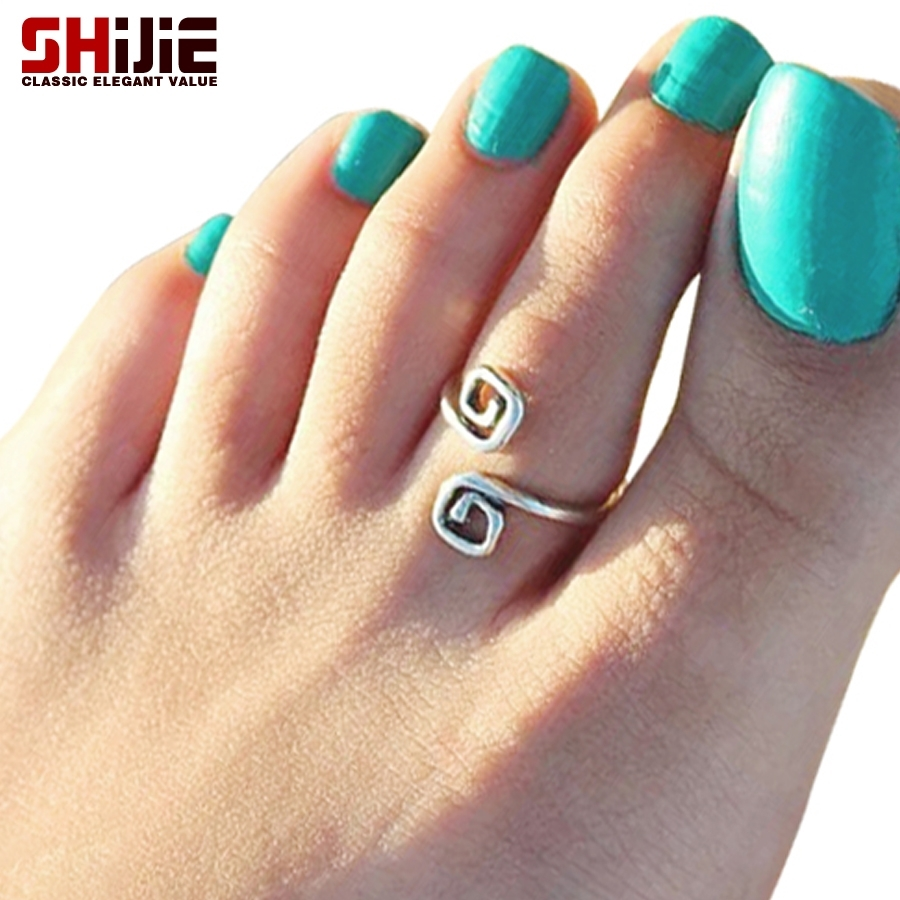 Shijie Vintage Sexy Toe Rings For Women Love Punk Summer Beach Within Latest Vintage Toe Rings (View 14 of 15)