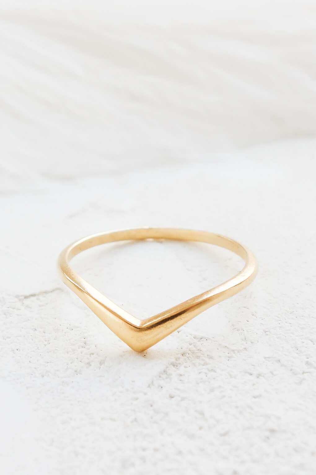 Shlomit Ofir | Solid Gold Chevron Ring – Shlomit Ofir Regarding Latest Chevron Rings White Gold (View 14 of 15)