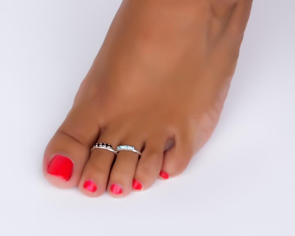 Silver Band Toe Ring Adjustable Midi Rings Within Best And Newest Adjustable Toe Rings (View 18 of 25)