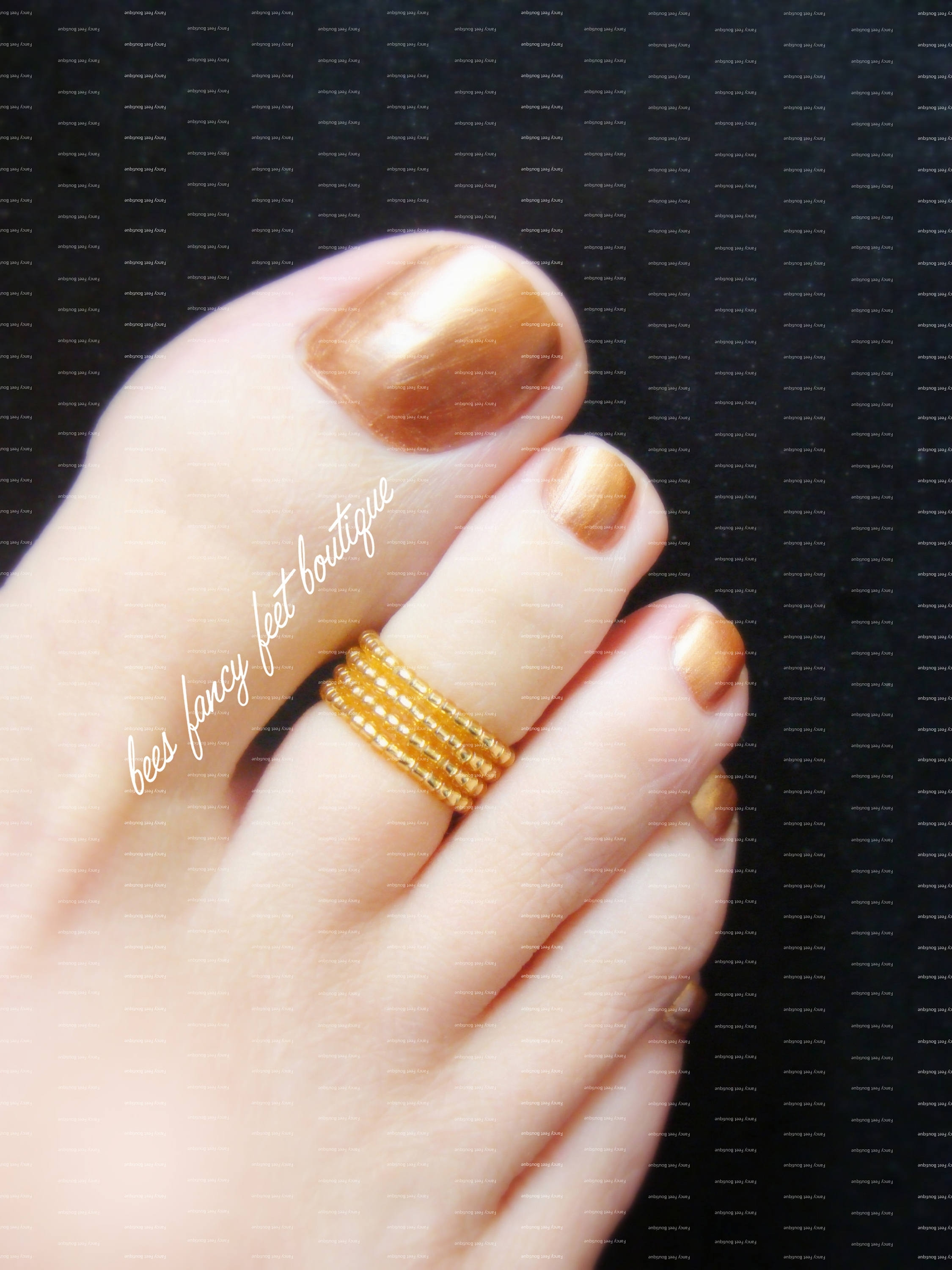 Stacking Toe Ring Gold Stretch Bead Toe Rings Within Most Popular Full Circle Toe Rings (Gallery 1 of 15)